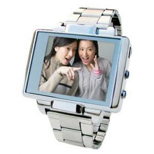 שעון נגן MP4 כולל מצלמת וידאו וסטילס