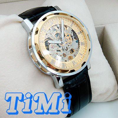 שעון יד אלגנטי שקוף TIMI 626
