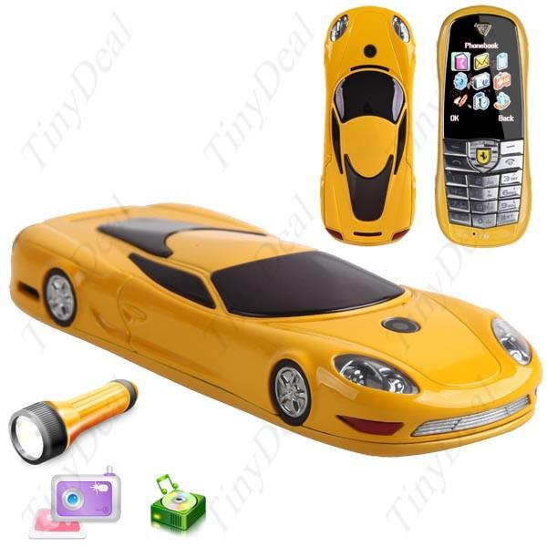 טלפון סלולרי מכונית ספורט