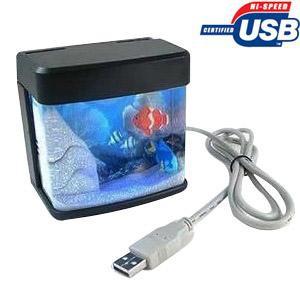 אקווריום למחשב בחיבור USB