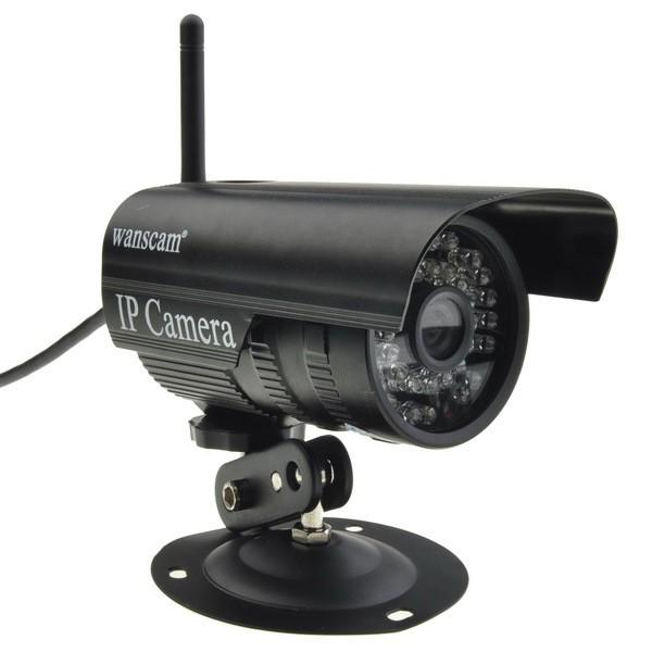 מצלמת IP אלחוטית להצבה חיצונית חסינת מים  - WANSCAM