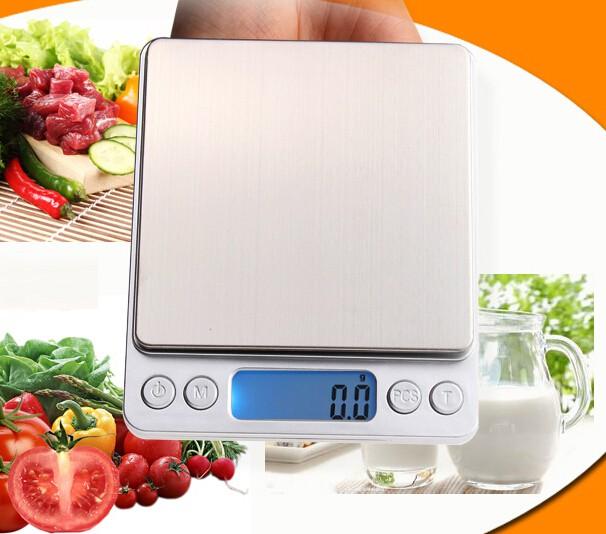 משקל מטבח דיגיטלי מקצועי  לשקילה עד 3 קילו בדיוק של 0.1 גרם