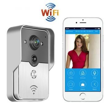 אינטרקום וידאו עם מצלמה צפייה באמצעות הטלפון הנייד WIC509