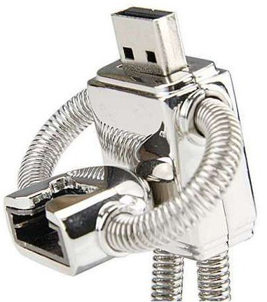דיסק און קי רובוט מתכתי RJ124