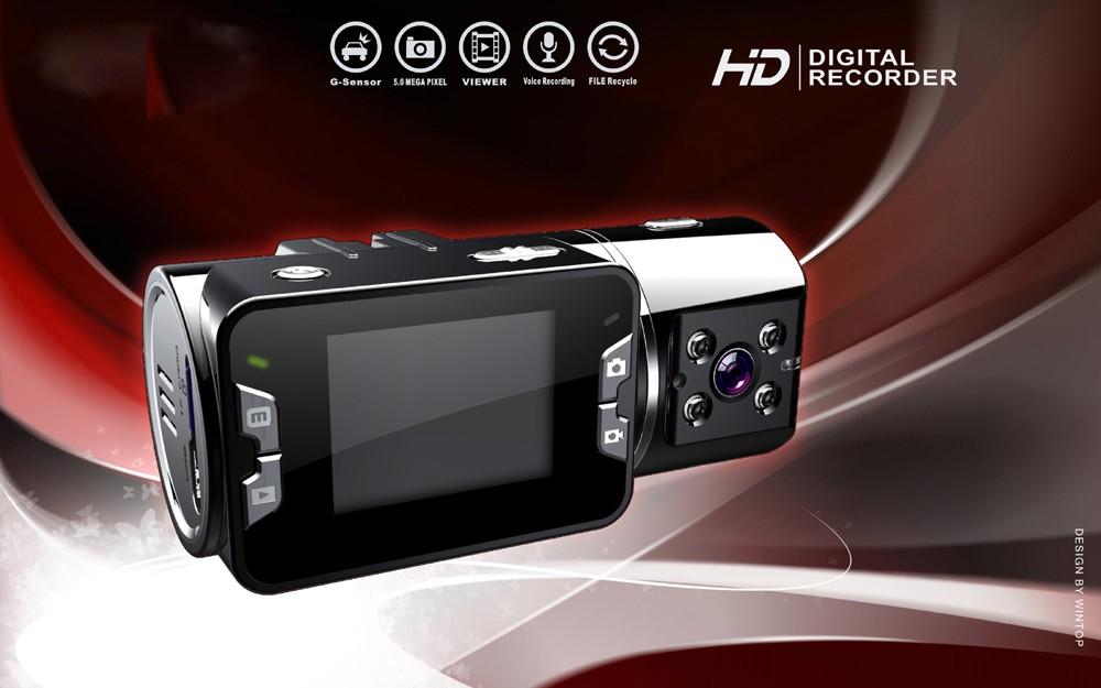 מצלמת אבטחה לרכב עם עדשה כפולה,ראיית לילה ואיכות צילום מקצועית DL1003