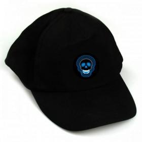 כובע עם תצוגה אלקטרונית