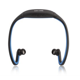 אוזניות משולבות נגן MP3 בעיצוב ספורטיבי עם זיכרון 4GB