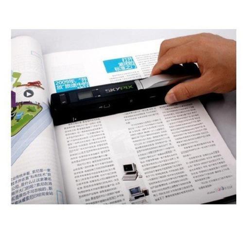 סורק מסמכים ידני נייד