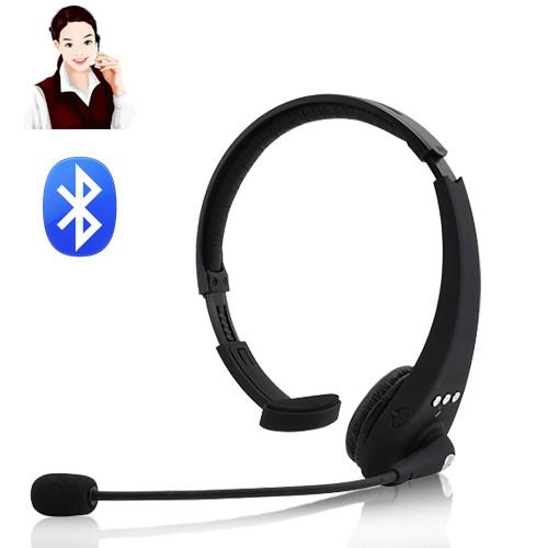 אוזניית BLUETOOTH עם מיקרופון ויכולת הקלטה