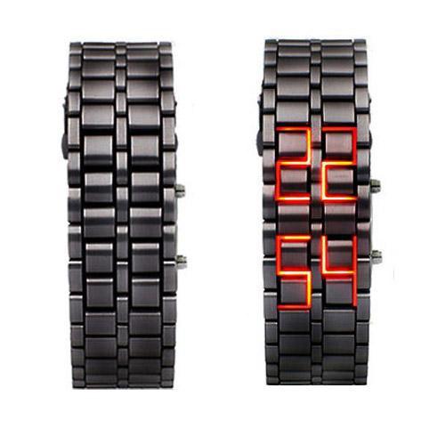 שעון לדים מיוחד בעיצוב יפני - K66