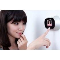 מצלמת וידאו עם צג לעינית דלת
