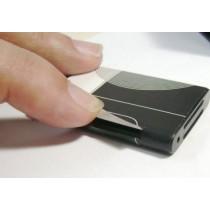 מכשיר האזנה סלולרי מוסלק בסוללה