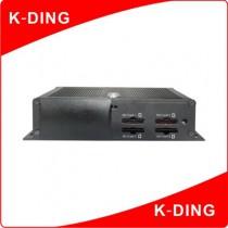 מערכת הקלטה למצלמות אבטחה - מיועדת במיוחד לרכבים,מוניות ואוטובוסים (KD-307)