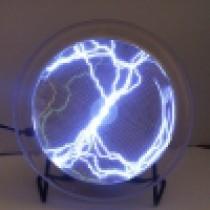 """מנורת פלזמה מופעלת ע""""י קול בחיבור USB או סוללות"""