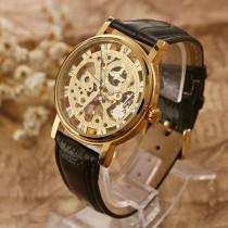 שעון יד מכאני עם מנגנון שקוף RR363