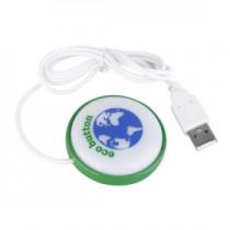 לחצן לשמירת אנרגית המחשב בחיבור USB