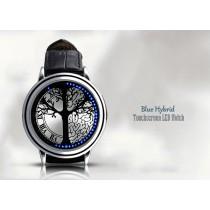 שעון לדים היברידי מעוצב עם מסך מגע K69