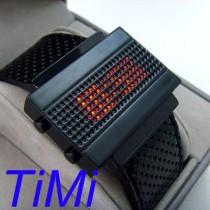 שעון רטרו מואר לד TIMI 292