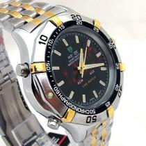 שעון אנלוגי מעוצב בשילוב תצוגת לד TIMI 989
