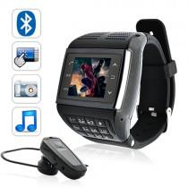 שעון טלפון סלולרי עם מסך מגע ומקשים - AVATAR