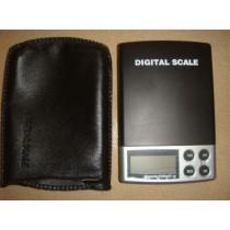 משקל כיס דיגיטלי קומפקטי בדיוק של 0.01 גרם