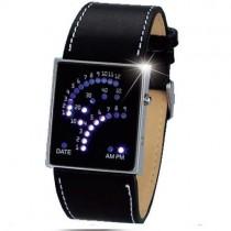 שעון אלגנטי עם צג לדים