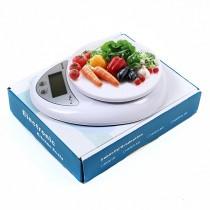 משקל מטבח  דיגיטלי לשקילה עד 5 קילו בדיוק של גרם