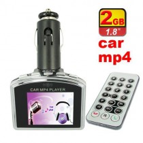 נגן MP4 לרכב עם משדר FM