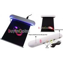 משטח לעכבר מואר לדים עם 4 כניסות USB