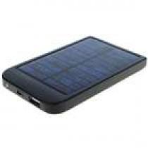 סוללה איכותית נטענת סולרית+מתאם לטלפונים ניידים