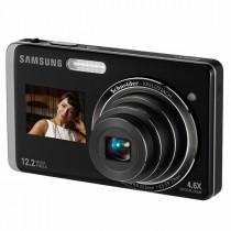 מצלמה דיגיטלית סמסונג באיכות 12.2 מגה-פיקסל עם מסך מגע בגודל 3 אינץ + מסך קדמי