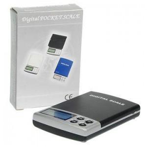 משקל כיס דיגיטלי קומפקטי בדיוק של 0.1 גר' - 1000 גר'