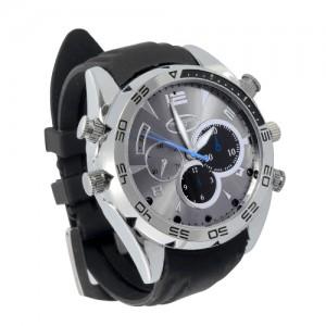 שעון יד עם מצלמה נסתרת זעירה באיכות צילום HD- WCR377