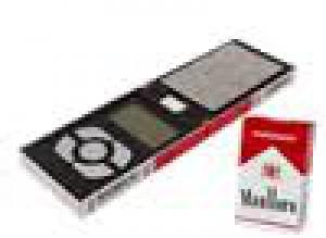משקל דיגיטלי קטן מדויק בצורת קופסת סיגריות