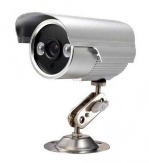 מצלמת אבטחה חסינת מים עם ראיית לילה והקלטה עצמית