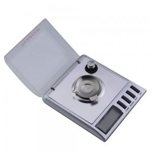 משקל גרמים דיגיטלי לשקילת תכשיטים בדיוק של 0.001 גרם