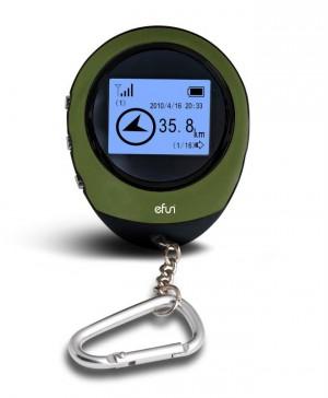 מכשיר GPS קומפקטי לניווט וסימון נקודות ציון